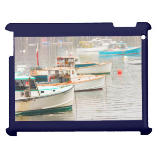Lobster Boats In Bass Harbor, Mount Desert Island Cover For The iPad