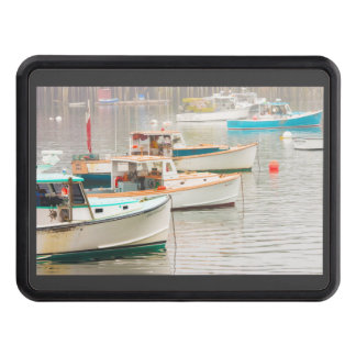 Lobster Boats In Bass Harbor, Mount Desert Island Hitch Cover
