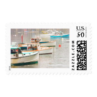 Lobster Boats In Bass Harbor, Mount Desert Island Postage