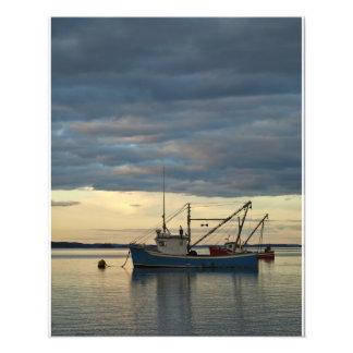Lobster Boats in Blue Photo Art