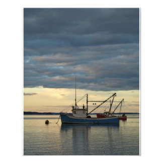 Lobster Boats in Blue Photo Print