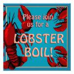 Lobster Boil Party Invitation Invitation