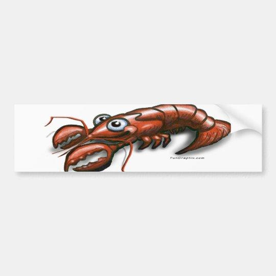 Lobster Bumper Sticker