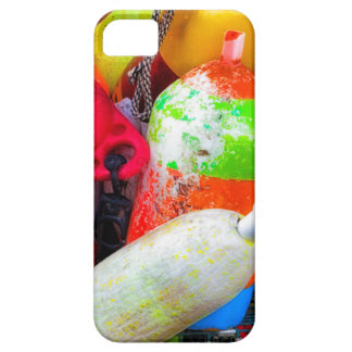 Lobster buoys at Bass Harbor iPhone 5 Cases