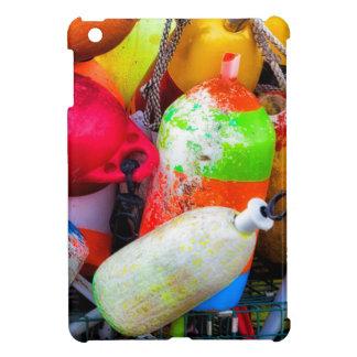 Lobster buoys at Bass Harbor iPad Mini Covers