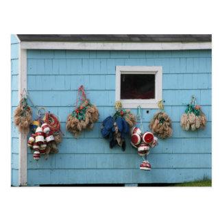 Lobster buoys & Bait Bags Postcard2 Postcard