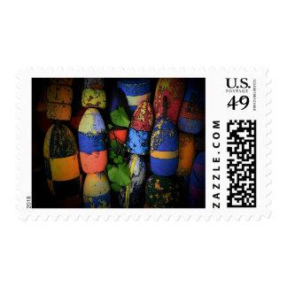Lobster Buoys Stamp