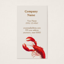 Lobster Business Card