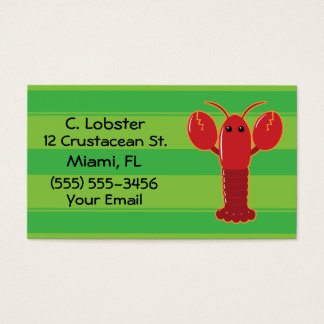 Lobster Business Cards