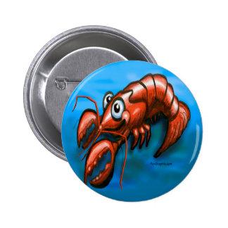 Lobster Pinback Button