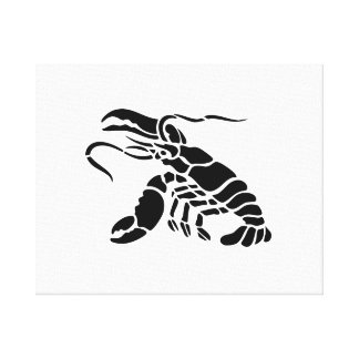 Lobster Stretched Canvas Prints