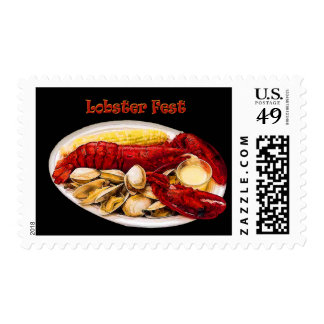 Lobster & Clams Lobster Fest Postage