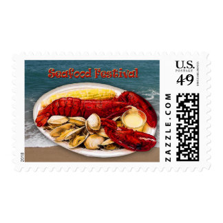 Lobster & Clams Seafood Festival Postage