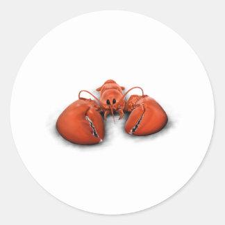 Lobster Classic Round Sticker