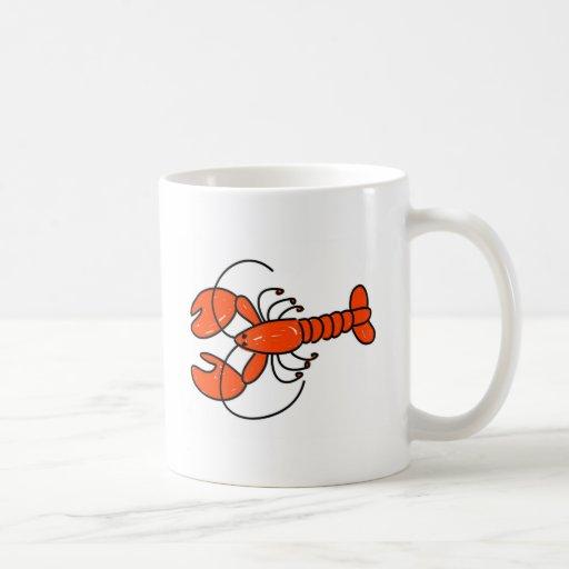 lobster classic white coffee mug