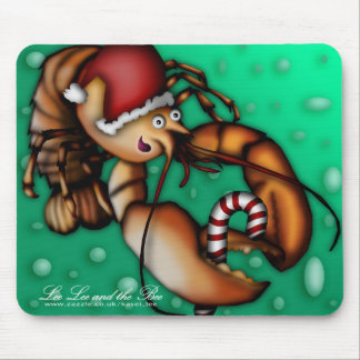 Lobster Claus, mousepad