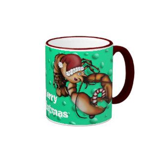 Lobster Claus, mug