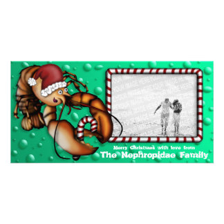Lobster Claus, photo card
