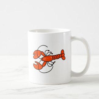 lobster coffee mug