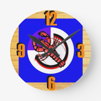 Lobster, Crawfish, Crayfish Clock
