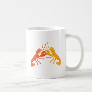 LOBSTER crayfish fighting Coffee Mug