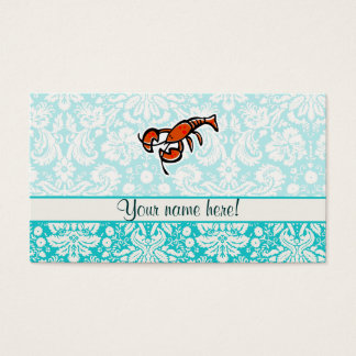 Lobster; Cute Business Card