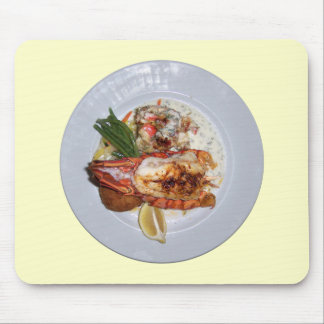 Lobster Dinner Mouse Pad