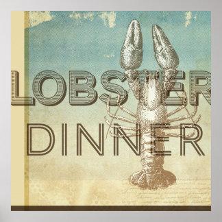 Lobster Dinner Print