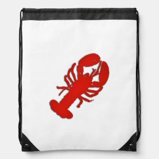 Lobster Drawstring Bag