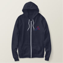 Lobster Embroidered Hoodie