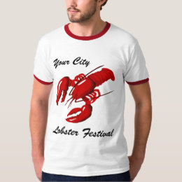 Lobster Festival Mens Ringer T-shirt