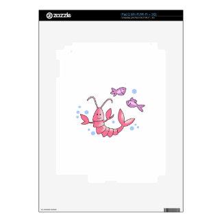 LOBSTER & FISH iPad 2 DECALS