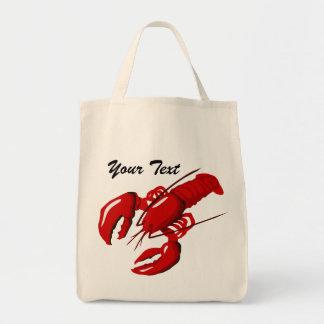Lobster  Grocery Tote Bag
