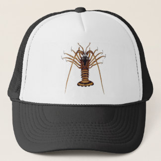 Lobster Hanging On Trucker Hat