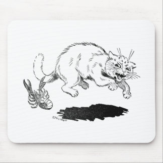 Lobster Has Cat By the Tail Mouse Pad