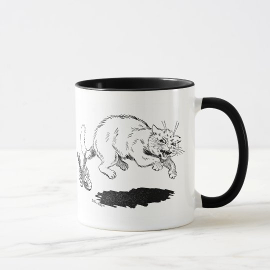 Lobster Has Cat By the Tail Mug