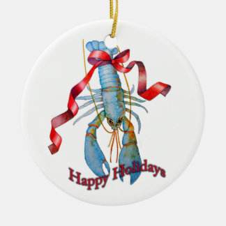 Lobster Holiday Ornament