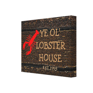 Lobster House Gallery Wrap Canvas