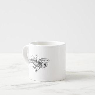 Lobster Illustration Espresso Cup