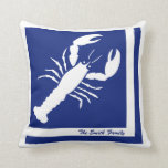 Lobster Image Personalized American MoJo Pillow