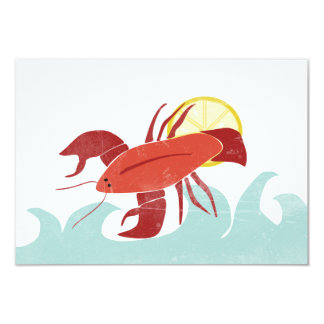 Lobster in the Sun Notecards