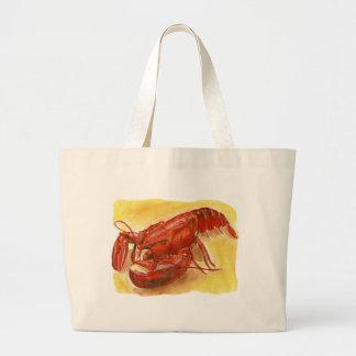 lobster jpg tote bags
