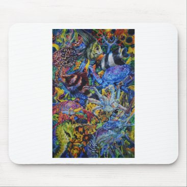 Lobster Lagoon Mouse Pad