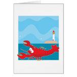 Lobster Light House Cards