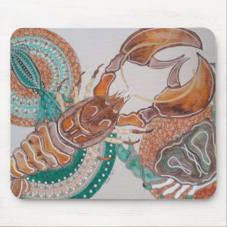Lobster love mouse pad