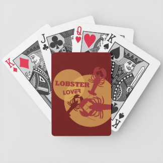 Lobster Lover Bicycle Playing Cards