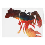 Lobster Mixed Media Collage Cards