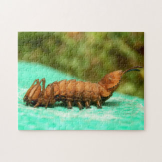Lobster Moth Caterpillar Photo Puzzle and Gift Box