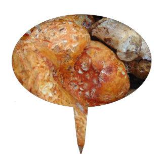 Lobster Mushrooms Cake Topper