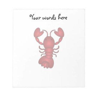 Lobster Memo Notepad